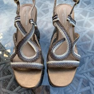EUC Naturalizer wedge sandal